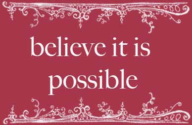 believe it is possible