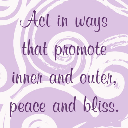 peace and bliss